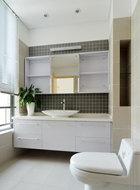浴室柜有大容量