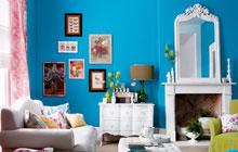 9个客厅亮彩沙发墙 巧心装扮趣味张扬