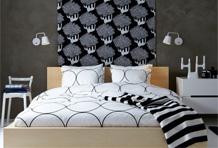 黑白经典卧室