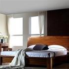 A家現代中式臥房三件套