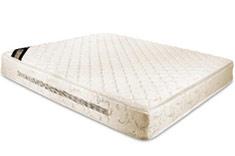 四格1.8米天然乳胶弹簧床垫