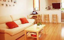 自创无印良品风 50平一室一厅原木婚房