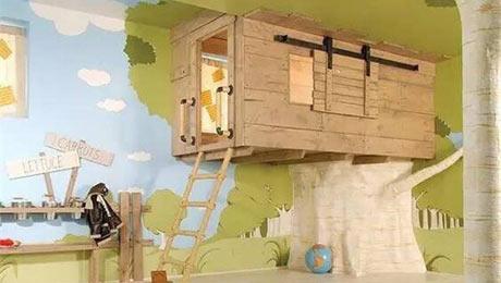 儿童房这样设计,孩子肯定超有创造力!