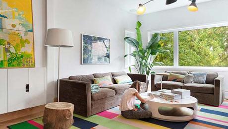 混搭复式公寓设计图片 最自然手工家