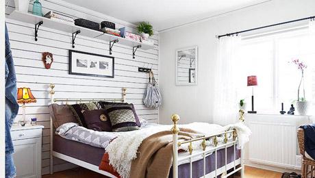 小户型卧室收纳技巧 犄角旮旯别放过