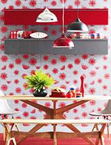 23款花色餐厅壁纸图片