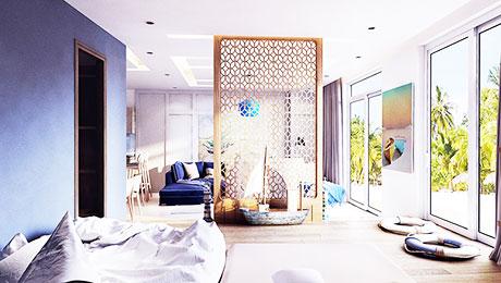 客厅实用隔断 16图巧设计大用途