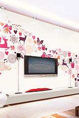 装饰画电视背景墙图片