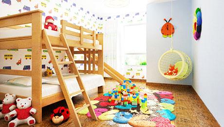 看完好想生二胎 13个儿童房高矮床设计