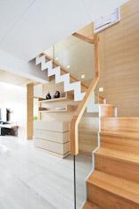 时尚玻璃扶手 16款简约楼梯设计