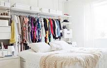 小户型衣帽间 2㎡搞定衣物收纳