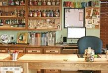 释放你的原木情结 富有韵味的工作台设计