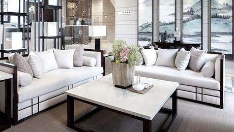 诗意中安居有道 13款中式客厅沙发图片