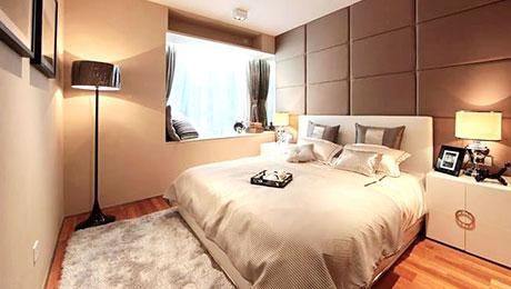 裸色系优雅 13个裸色系卧室设计
