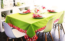 14张家用餐桌布图片 清新可爱送温暖