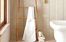 梯子的收纳魔法 10个梯子变身毛巾架