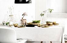 10个餐厅桌布效果图 素雅清新送温暖