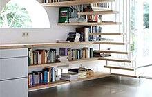 11个创意楼梯书架 打造巧妙藏书空间