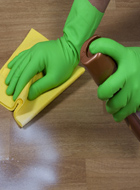 5、清洁收尾:地面清洁