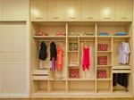 衣柜定位:摆一面墙的衣柜