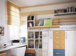 1、书房分区提高效率
