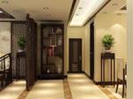 1、挑走廊灯:墙壁色彩