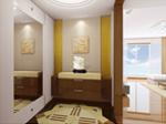 1、剩余瓷砖用于门厅处