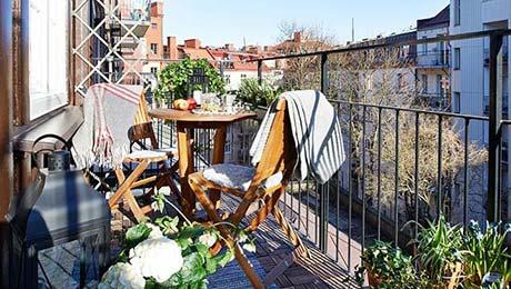 我与阳台的阳光生活