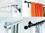 2、正确安装窗帘杆,方法技巧不能少