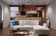 43㎡工业风单身公寓图片 惊喜在屋里